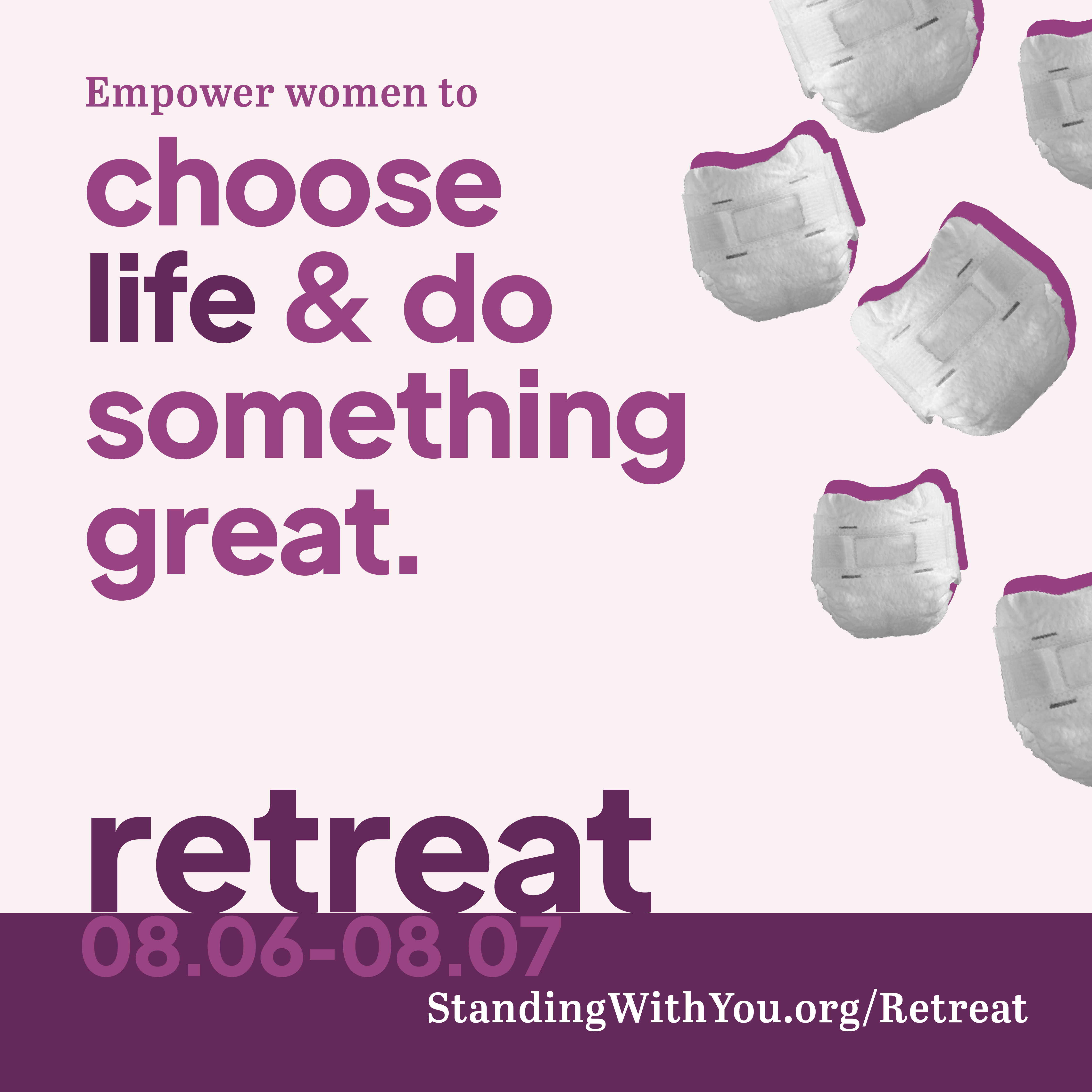 APPLY: Standing With You Retreat August 6th – 7th